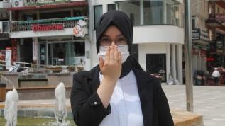Liseli Özlem 14 koronavirüs kuralını işaret diliyle anlattı