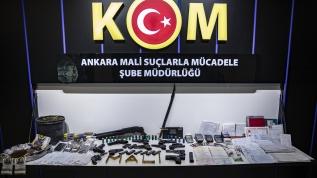 Başkentte tefeci operasyonu: 25 kişi gözaltına alındı
