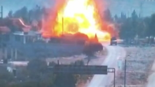 Rus devriyesine bombalı saldırı düzenlendi