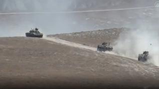 Türkiye ve Azerbaycan'ın ortak askeri tatbikatında temsili düşman hedefleri vuruldu