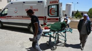 Otomobil şarampole devrildi, 9 kişi yaralandı