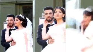 Beyrutlu çift en mutlu gününde büyük korku yaşadı: Patlamaya fotoğraf çekimi sırasında yakalandılar