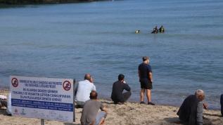 Denizde kaybolan 17 yaşındaki genci arama çalışmaları devam ediyor