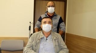 Kalp ameliyatı geçiren 49 yaşındaki adam koronavirüse yakalandığını yoğun bakımdaki 3. gününde öğrendi