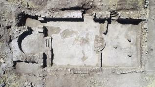 1624 yıllık kiliseye ait mozaikler için kurtarma kazısı başlatıldı