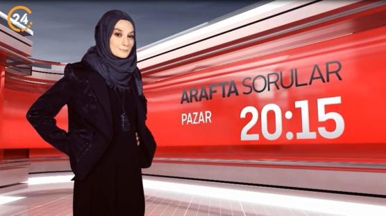 """""""Esra Elönü ile Arafta Sorular' 24 TV'de başlıyor"""