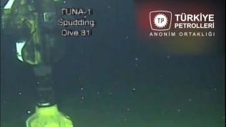 TPAO'dan tarihi paylaşım: Tuna-1 kuyusundan ilk görüntü geldi!