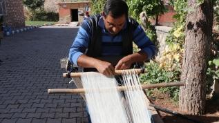 Kültürel miras 'şal şapik' kumaşı üretimi artırılarak ihraç edilecek