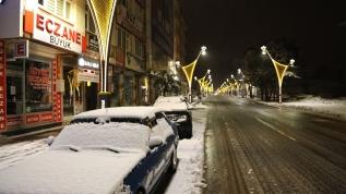 Kar yağışı ve tipi nedeniyle Bingöl'de 288 köy yolu ulaşıma kapandı