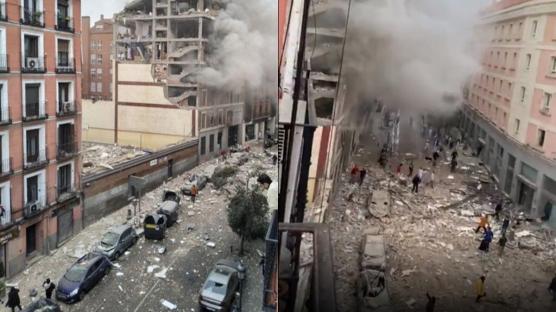 Adeta savaş alanı! Avrupa'nın göbeğinde şiddetli patlama