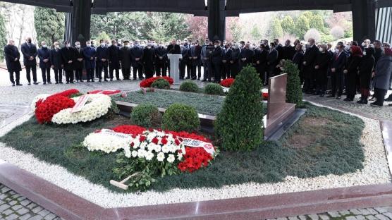 Özal'ın ölümünün 28. yılı... Başkan Erdoğan anma töreninde Kur'an okudu