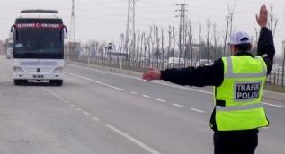 Yolcu otobüslerinde sivil polis uygulaması