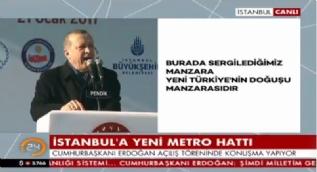 Erdoğan: Onlar öldürmeye çalışacak, biz yaşatacağız