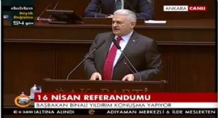 Başbakan Yıldırım: Kandil'e selam duranlara millete selam durmayı öğretmek için 'Evet' diyeceğiz