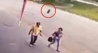 Brezilya'da şoke eden kaza