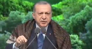 Cumhurbaşkanı Erdoğan´dan Dünya´ya terör mesajı: Cesareti olan varsa hodri meydan