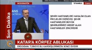 Cumhurbaşkanı Erdoğan: Şehir hastaneleri hayalim olan projeler dizisiydi