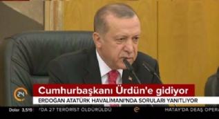 Cumhurbaşkanı Erdoğan: İran'la müşterek bir hareketin yapılması her an gündemde