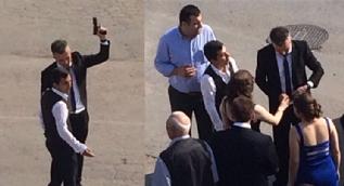Düğünde silahını konuşturdu, uyarılınca 'Teşkilatı buraya yığarım' dedi