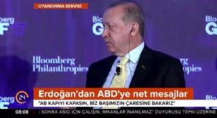 Cumhurbaşkanı Erdoğan ABD'de net konuştu: Batı'da adalet aramayın!