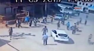 Adana 3 kişiyi öldüren trafik polisinin cinayet anı güvenlik kamerasında