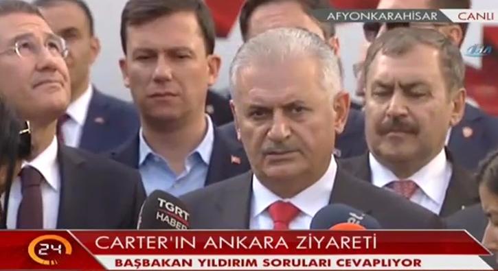 Y�ld�r�m: M�nbi�te hi�bir YPG, PYD unsuru kalmayacak