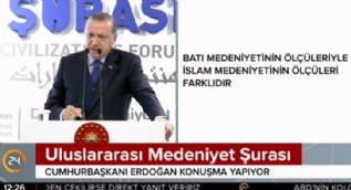 Cumhurbaşkanı Erdoğan: Aliya'nın vasiyeti sıradan değildir