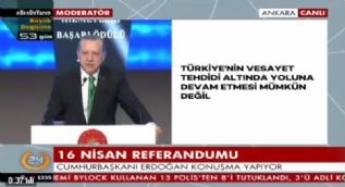 Erdoğan: Siyaseti dürüst yapmazsanız sittin sene yine aynı yerde oturmaya devam edersiniz