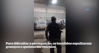 Brezilya'da 20 milyon dolarlık soygun