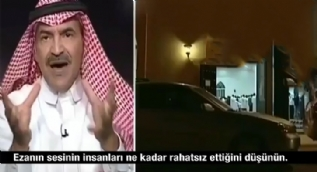 Suud gazeteciden rezil açıklama... Ezan seslerinin kısılmasını istedi