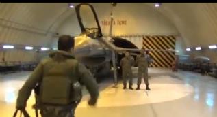 Pilota operasyon emri geldiğinde yaşadıkları kameraya böyle yansıdı