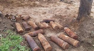 Makedonya´da Birinci Dünya Savaşı´ndan kalma top mermileri bulundu