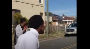 Amerikalı genç Müslüman kavgayı böyle ayırdı