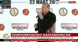 Cumhurbaşkanı Erdoğan:Milleti aldatmayın,yalan söylemeyin !