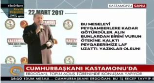 Cumhurbaşkanı Erdoğan: 18 yaşa evlenme hakkı veriyorsun da neden seçilme hakkı vermiyorsun?