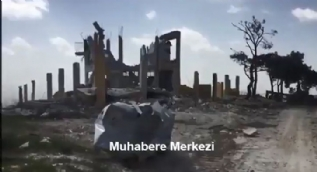 TSK paylaştı... Teröristlerin eğitim kampı böyle görüntülendi