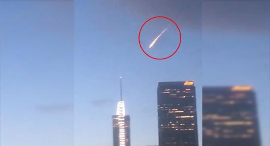 Uzaylı istilası mı, meteor mu? ABD´de korku dolu anlar