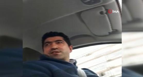 Taksiciden aracına binen turiste: Sen terörist misin