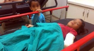 Alkollü koca önce eşini dövdü, sonra 8 yaşındaki kızını döverek hastanelik etti