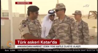 Ankara'dan hareket eden Türk askerleri Katar'a ulaştı
