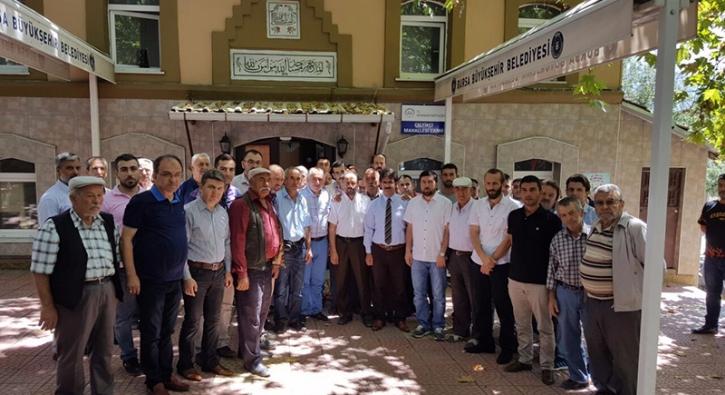 Sela y�z�nden darp edilen imama halk deste�i