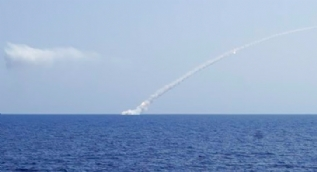 Rusya denizaltıyla İdlib'i vurdu!