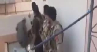 DEA� militanlar�n�n Kerk�k�e giri�i kamerada