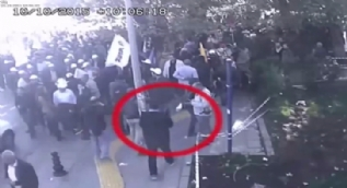 Ankara Garı'nı kana bulayan DEAŞ'lı teröristlerin alana giriş görüntüleri kamerada
