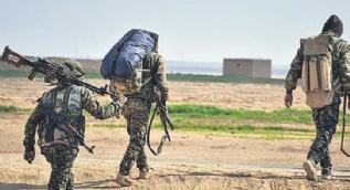 YPG´li teröristler bir bir teslim alınıyor