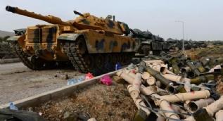 Kahraman Mehmetçik teröristleri ´zırh delici´ toplarla vuruyor