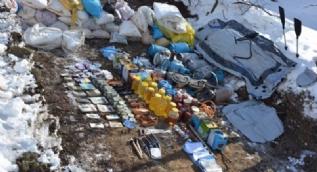 Bingöl'de PKK'ya büyük darbe, 10 sığınak imha edildi