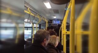 EGO otobüsünde gerginlik... Yolcuları 40 dakika otobüste bekletti