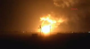 Ukrayna'da cephanelikte patlama: Binlerce kişi tahliye edildi