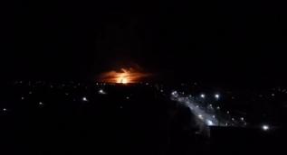 Ukrayna'da cephanelikte yangın